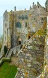 Mont Saint-Michel (França) Fotografia de Stock