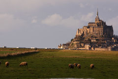 Mont Saint Michel, France Royalty Free Stock Images