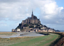 Mont Saint-Michel France. Mont Saint-Michel Abbey and Island, France, Europe Royalty Free Stock Images