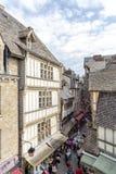 Mont Saint Michel, France Image stock
