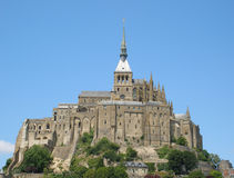 Mont Saint Michel - France Royalty Free Stock Photos