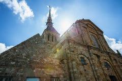 Mont Saint Michel - France Royalty Free Stock Images