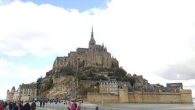 Mont Saint Michel France Stock Afbeeldingen