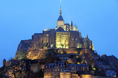 Mont Saint Michel. France Royalty Free Stock Photos