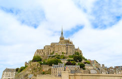 Mont Saint Michel - France Royalty Free Stock Photo