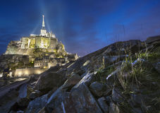 Mont Saint Michel, France Stock Photos
