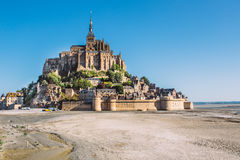 Mont saint michel in france Stock Photography