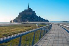 Mont Saint-Michel France stock photo