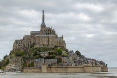 Mont Saint-Michel, France. View of Mont Saint-Michel, France Stock Photos