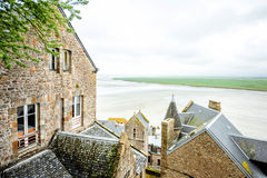 Mont Saint Michel in France Royalty Free Stock Images