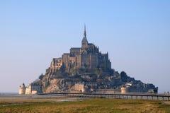Mont Saint Michel in Francia immagine stock libera da diritti