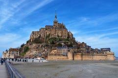 Mont Saint Michel in Francia immagini stock libere da diritti