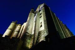 Mont Saint-Michel (Francia) Fotografia Stock