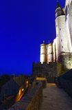 Mont Saint-Michel (Francia) Immagine Stock