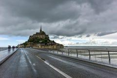 Mont Saint-Michel - Francia Imagen de archivo