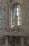 Mont Saint Michel, Francia - 8 de septiembre de 2016, abadía benedictina Imagen de archivo libre de regalías