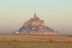 Mont saint michel Francja Zdjęcia Stock