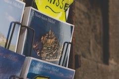 Mont Saint Michel - Frankreich stockfotografie