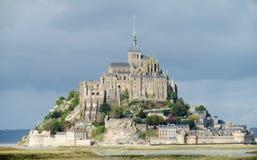 Mont Saint Michel in Frankreich Lizenzfreies Stockbild