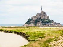 Mont Saint-Michel, Frankreich Lizenzfreies Stockfoto