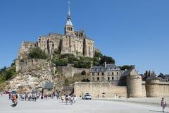 Mont Saint Michel, Frankreich Stockbild