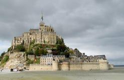 Mont Saint Michel, Frankreich Stockbilder