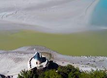 Mont Saint-Michel Frankreich lizenzfreie stockbilder