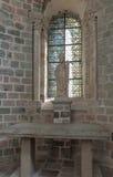 Mont Saint Michel, Frankreich - 8. September 2016, Benediktiner-Abtei Lizenzfreies Stockbild