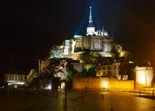 Mont Saint-Michel (Frankrike) Royaltyfri Bild