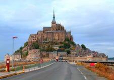 Mont Saint Michel Stock Photo