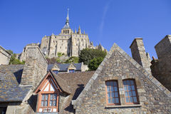 The mont saint michel Stock Photos