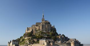 Mont Saint Michel II Royalty Free Stock Images