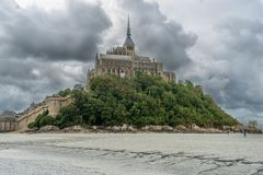 Free Mont Saint Michel In Normandy, France Attraction Stock Photography - 160270472