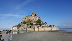 Mont Saint Michel. Island royalty free stock image