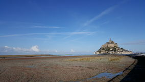 Mont Saint Michel. Island stock photography