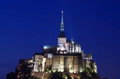 Mont saint michel kasztel Zdjęcie Royalty Free