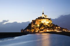 Mont-Saint-Michel Royalty Free Stock Images