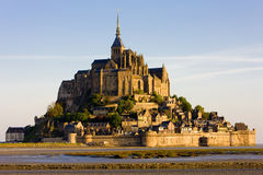 Mont-Saint-Michel Monastery Royalty Free Stock Photography