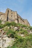Mont Saint-Michel`. Mont Saint-Michel, Normandy, France Stock Photos