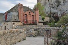 Mont Saint-Michel`. Mont Saint-Michel, Normandy, France Royalty Free Stock Images