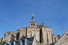 Mont Saint-Michel`. Mont Saint-Michel, Normandy, France Royalty Free Stock Photography