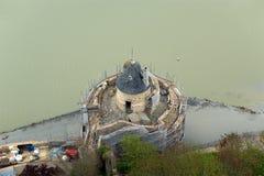 Mont Saint-Michel, Normandía, Francia Fotografía de archivo