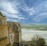 Mont Saint-Michel, Normandía, Francia Foto de archivo libre de regalías