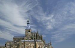 Mont Saint-Michel, Normandië, Frankrijk Stock Afbeeldingen