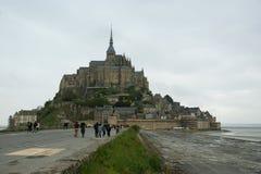 Mont Saint-Michel, Normandië, Frankrijk Stock Afbeelding