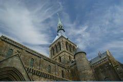 Mont Saint-Michel, Normandië, Frankrijk Royalty-vrije Stock Fotografie