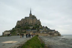 Mont Saint-Michel, Normandie, France Image stock