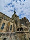 Mont Saint-Michel, Normandie, France du nord ?t? 2019 photos stock