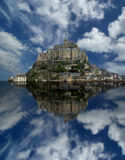 Mont Saint-Michel, Normandie, Frankreich Lizenzfreies Stockbild