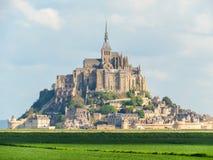 Mont Saint-Michel, Normandie, Frankreich Stockbilder